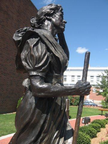 Hannah Cole Statue
