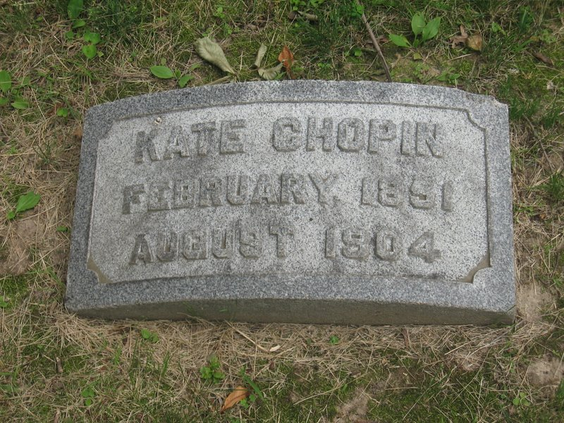 Grave of Kate Chopin