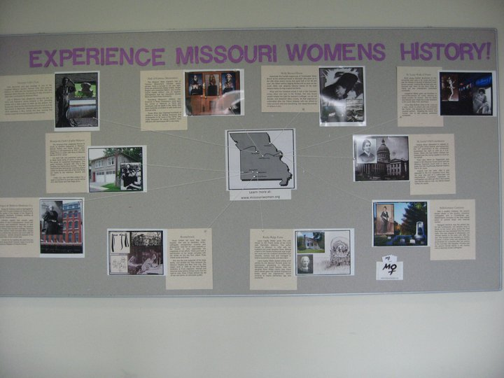 Missouri Women's History Exhibit at MSU