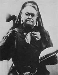 Carrie Nation is buried in Belton, Missouri.